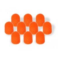 Колпачки абразивные d 10 мм (10 шт), крупная крошка (10-080)
