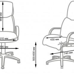 Педикюрное кресло НАДИР Люкс